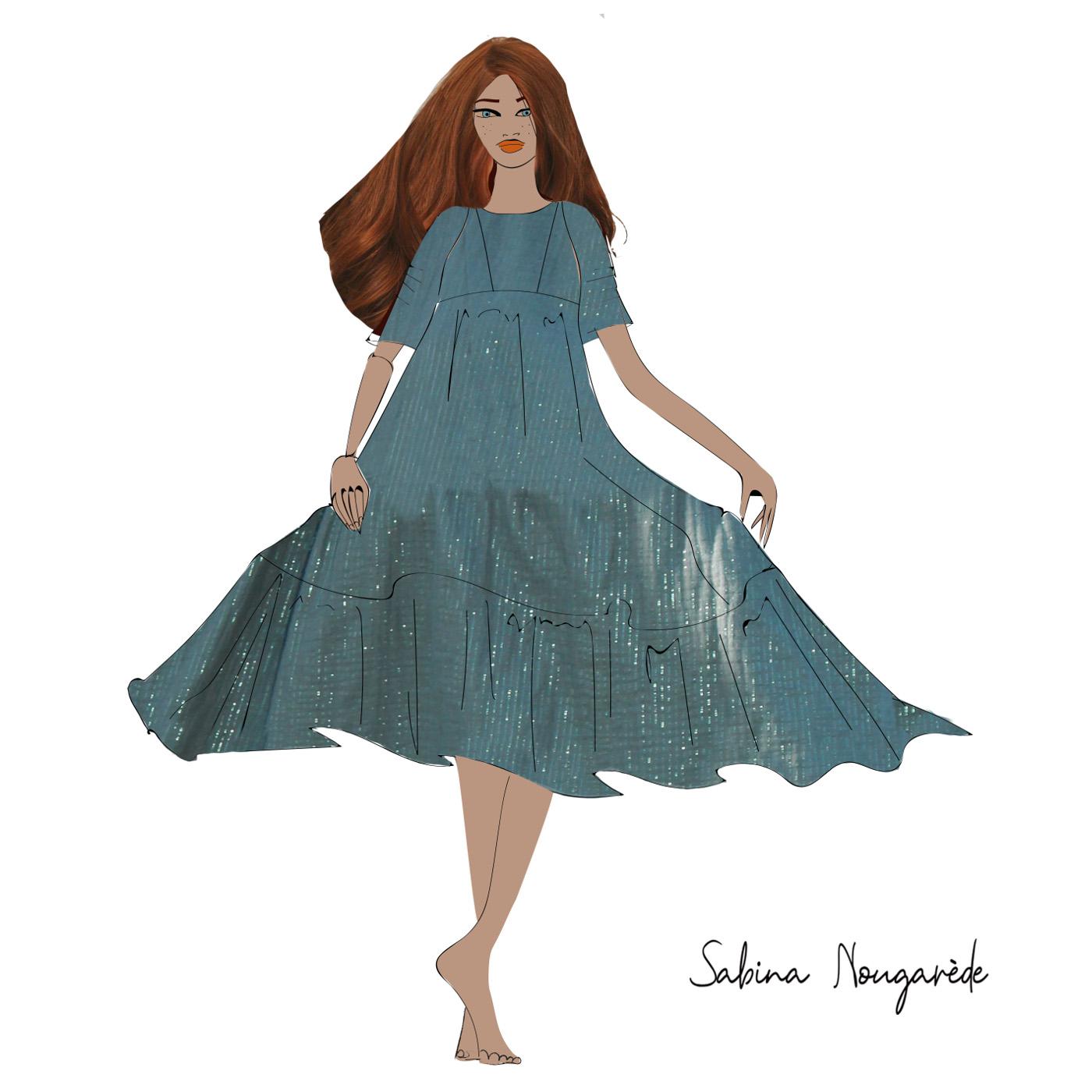 An original dress, all comfort and softness